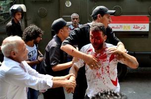 EGYPT MORSI SUPPORTERS CLASH