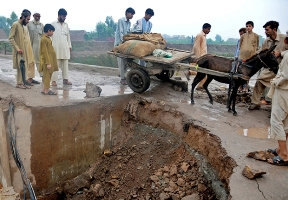 PAKISTAN MONSOON FLOODS