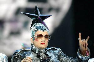Eurovision Song Contest 2007 - 1st Final Dress Rehearsel *** Local Caption *** Verka Serducka, Ukraine