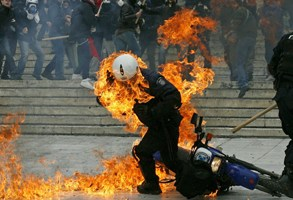 GREECE-STRIKE-CLASHES