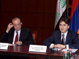 Meeting of the deputy PMs of Iraq and Armenia Rowsch Nuri Shaways and Armen Gevorgyan took place at Armenia Marriott Hotel