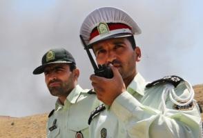 IRAN DRUGS BURN