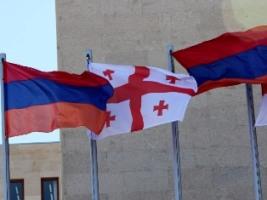 RA Minister of Defense Seyran Ohanyan receives the Minister of Defense of Georgia Irakli Alasania