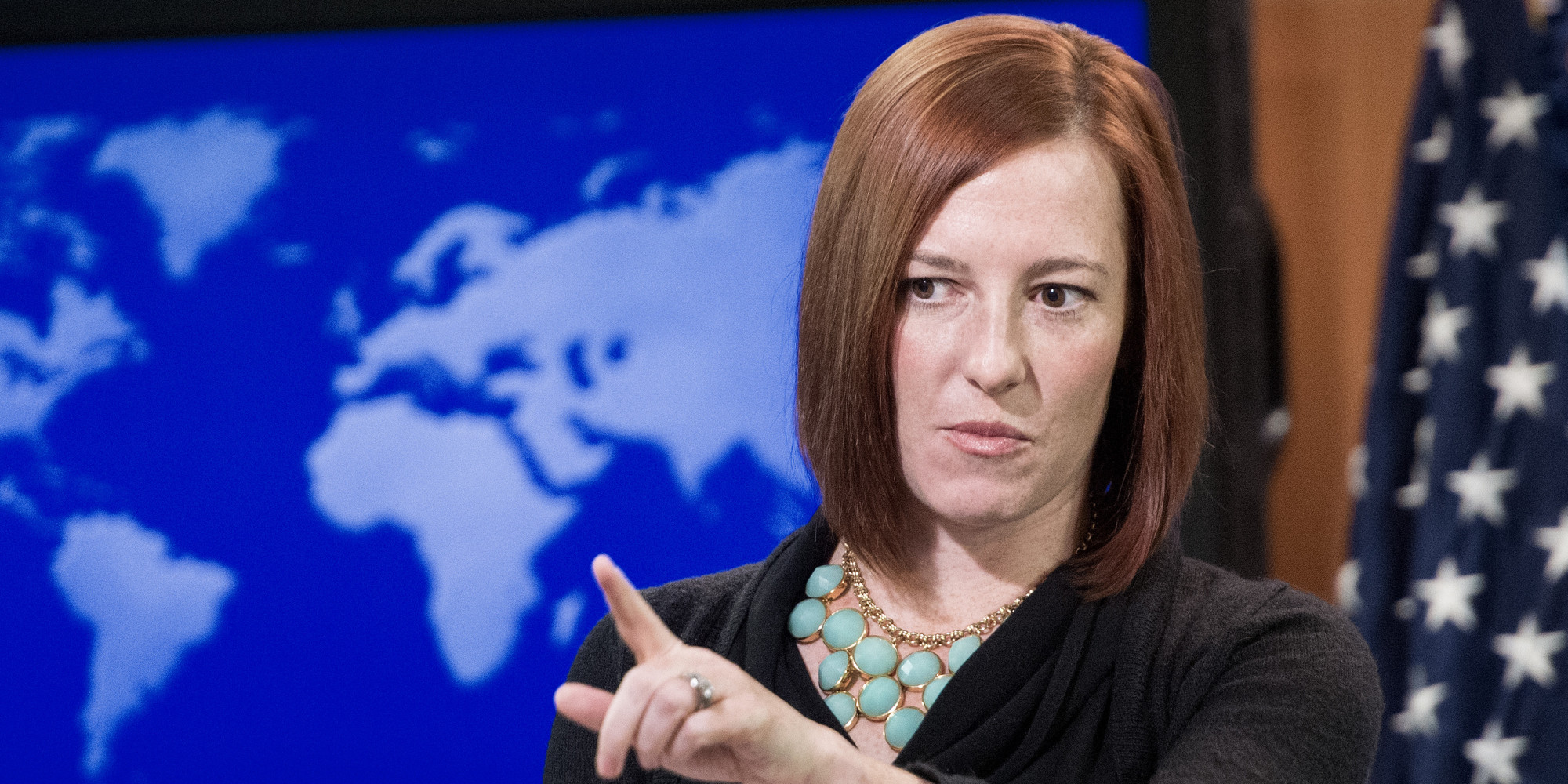 US-POLITICS-DIPLOMACY-PSAKI