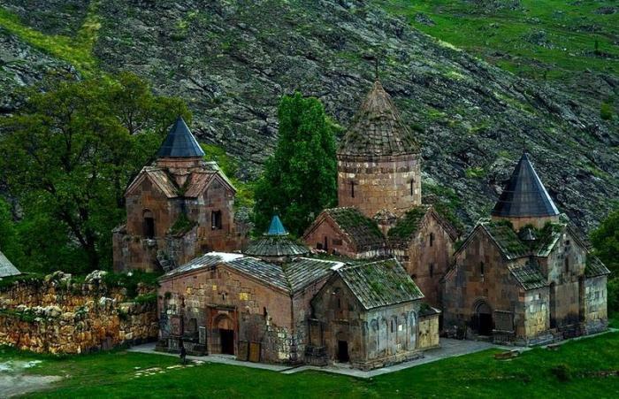 город Делижан в Армении