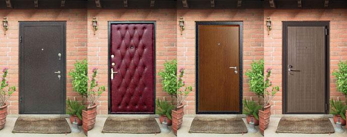 выбрать входную металлическую дверь в частный дом