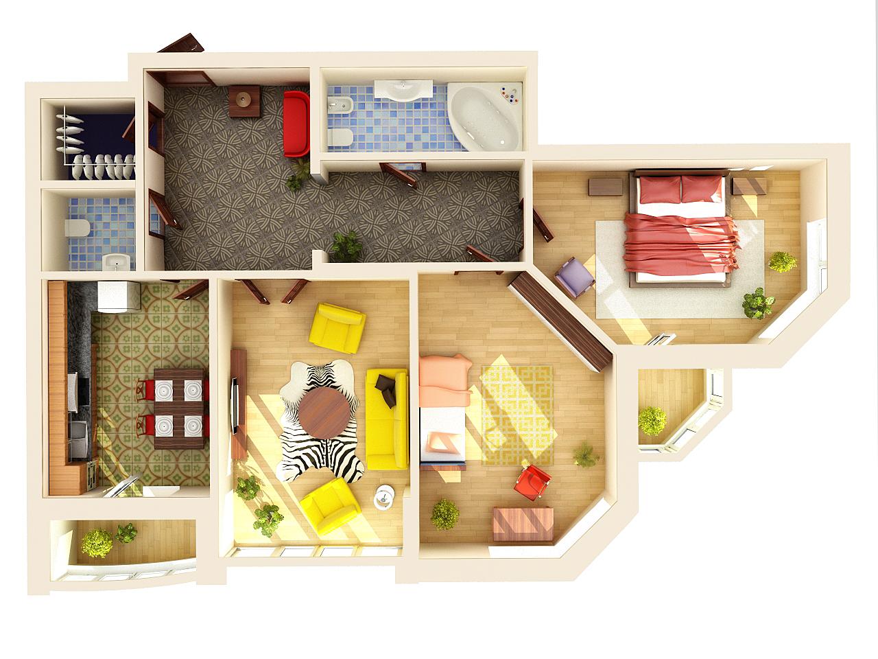 Дизайн для дома схема фото